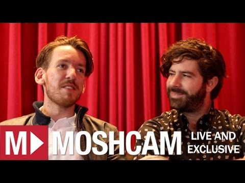 Foals talk magic mushroom tea, writing records and playing the recorder