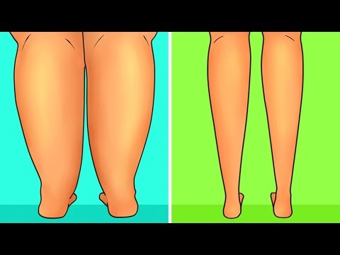 6-Minute Workout to Slim Down Your Legs Fast