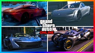 30+ Unique Vehicles With SPECIAL Abilities You MUST Own In GTA Online!