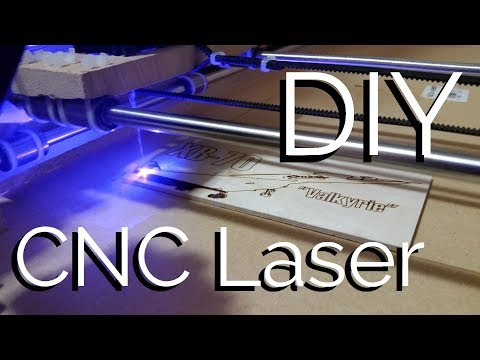 CNC Laser Cutter/Engraver Build and Testing