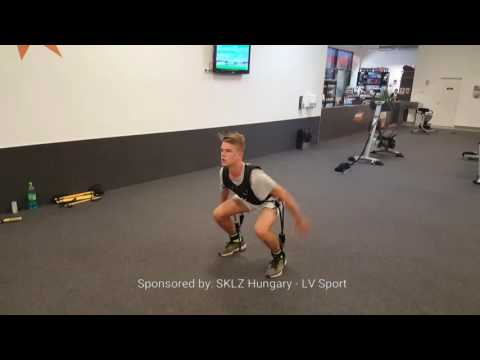 Explosive vertical jump training and improve leg speed