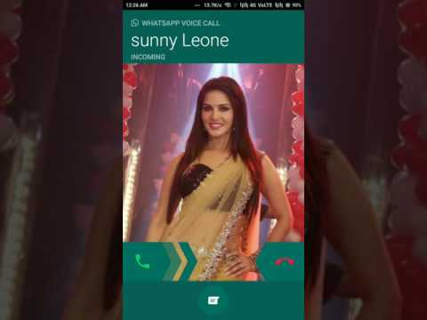 Sunny Leone WhatsApp voice call leaked