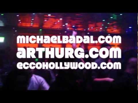 Arthur Galestian, Michael Badal, Todd Day, Adam Meza - Ecco Hollywood - April 14, 2012