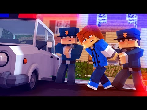 Youtuber Gets Arrested | Minecraft Neighborhood Ep.1