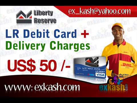 Free Liberty Reserve ATM Debit Card, Prepaid visa