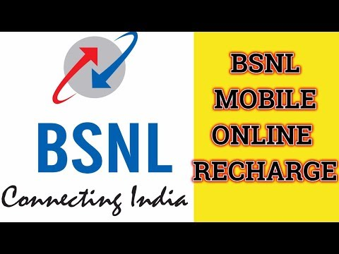 How to Recharge your BSNL Mobile without Login through Online | Digital hub9