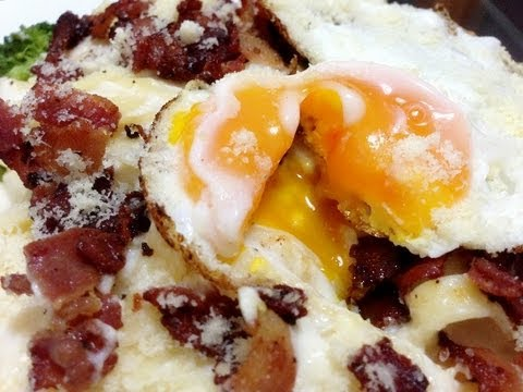 Pasta with Fried Egg Recipe