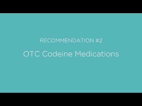OTC Codeine Medications - Choosing Wisely Canada
