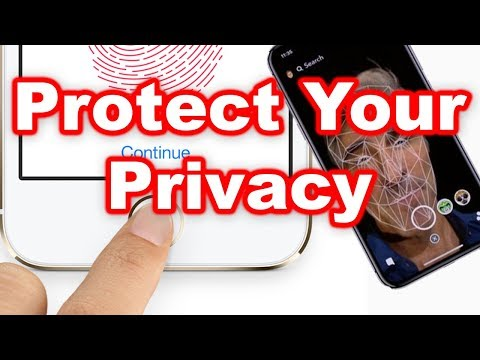 iPhone 8 & X Privacy Trick - Block Face ID and Touch ID