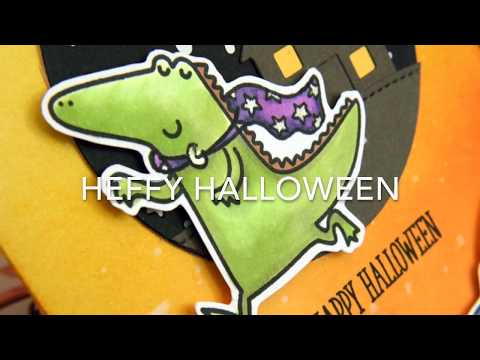 Heffy Halloween Day 2 - Magical Mage ft Heffy Doodle Stamps