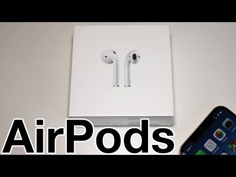 AirPods Unboxing & First Impressions! (2018)