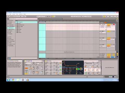 Ableton Live Tutorial - Making a Laser Sound Effect