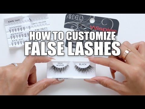 HOW TO CUSTOMIZE FALSE LASHES | DESI PERKINS