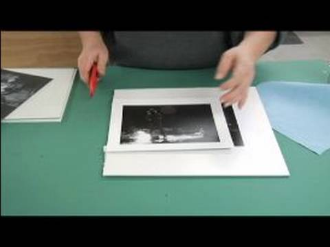 How to Frame Black and White Photos : How to Mount Pictures to Frames