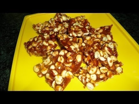 Moongphali Gur Ki Chikki - Neeta Mehta - Chef's Special