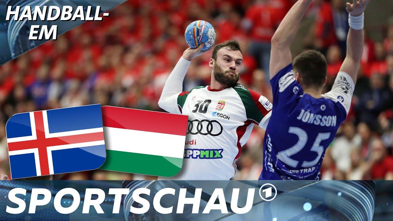 Ungarn überrumpelt Island - und schockiert Weltmeister Dänemark | Handball-EM | Sportschau