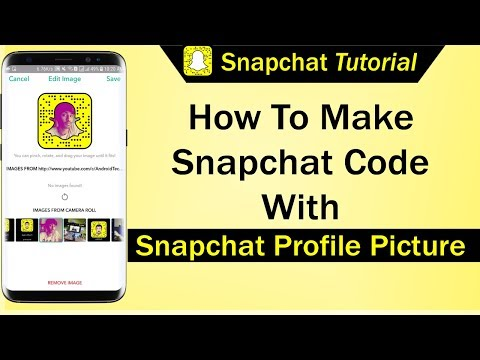 How To Make Snapchat Code With Snapchat Profile Picture