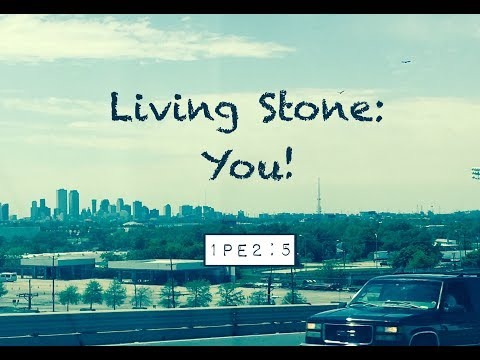 LIVING STONE: YOU! (1 Peter 2:5)
