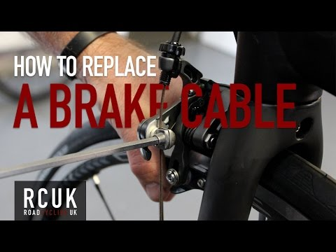 How to replace a road bike brake cable | RCUK