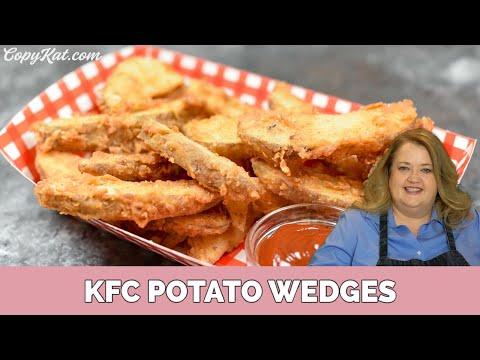 How to Make Copycat KFC Potato Wedges