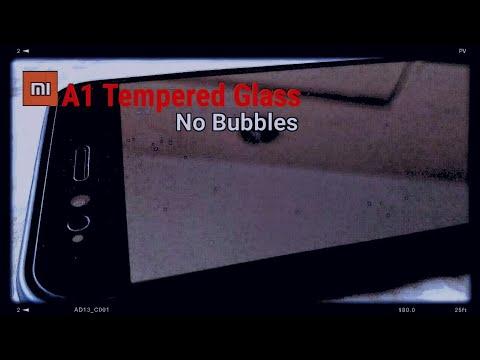 Tempered Glass for Mi A1 (no Bubbles)