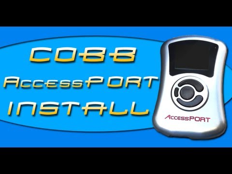How To Cars: Cobb AccessPORT Install