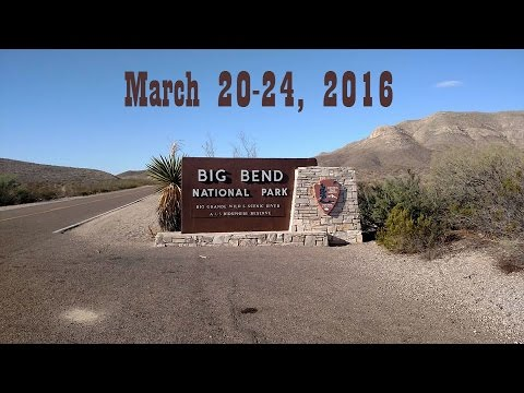 Big Bend Vacation 2016
