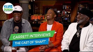 Samuel L. Jackson, Jessie T. Usher and Richard Roundtree on Working Together on