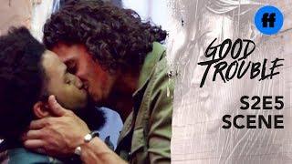 Good Trouble Season 2, Episode 5 | Gael Gives Elijah A Thank You Gift | Freeform