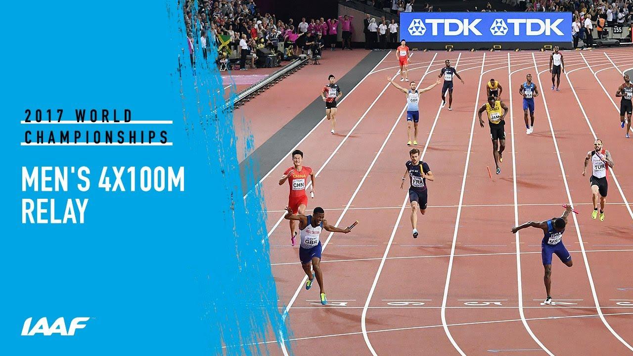 Men's 4x100m Relay Final | IAAF World Championships London 2017