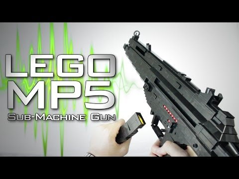 LEGO MP5 (+ MP5SD)