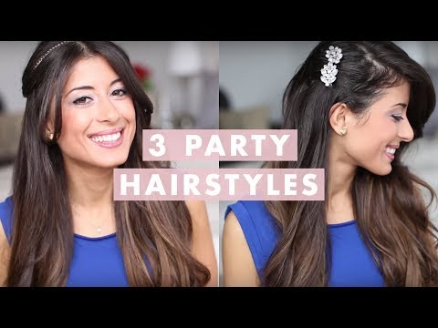 3 Party Hairstyles