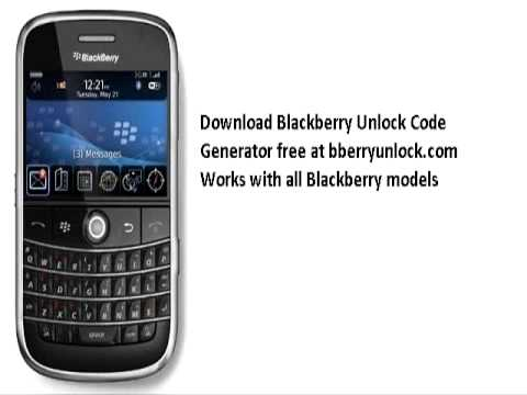 free blackberry unlocking software download