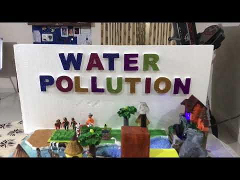 Working Model of Water Pollution