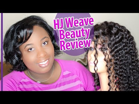 HJ Weave Beauty Lace Frontal Wig Review
