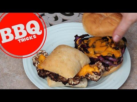 Veggie Cheesesteak Sandwich | Barbecue Tricks