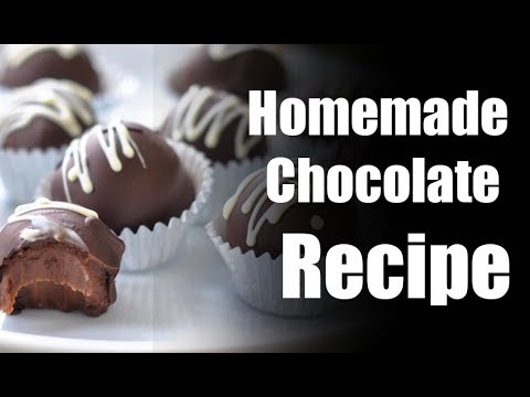 Homemade Chocolate Recipe Best Chocolate