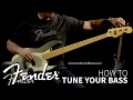 Download  How to Tune Your Bass   Fender MP3,3GP,MP4
