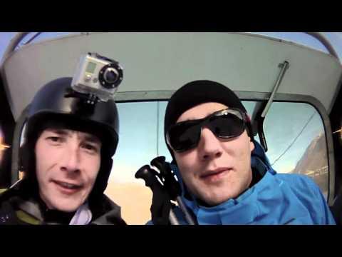 Les racailles du conseil font du ski sans neige / Ouverture Tignes 2011 - AS Accenture