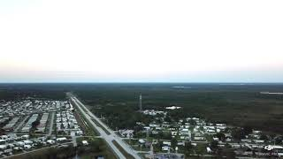 First DJI mavic pro flight panorama