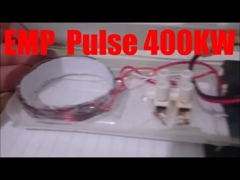 EMP Jammer 400000V  High-voltage Generator