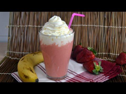 Strawberry-Banana Yogurt Smoothie - How to Make a Strawberry Banana Smoothie