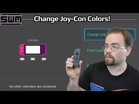 Change Nintendo Switch Joy-Con Colors Through Software!