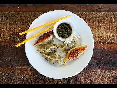 Pork And Shrimp Dumplings/Pot Stickers {Flavours Of Asia}