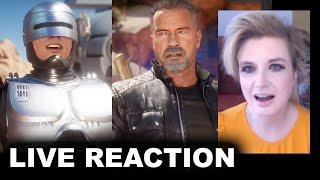 Mortal Kombat 11 RoboCop vs Terminator Gameplay Trailer REACTION