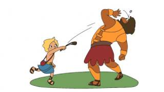 David & Goliath | The Bible Story | Animated Version