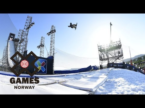 Kokomo Murase wins Women's Snowboard Big Air gold   X Games Norway 2018