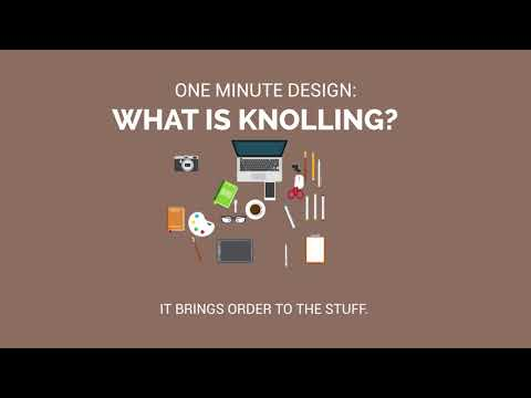 One Minute Design: What is Knolling?