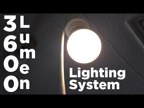 Ben Builds: 3,600 Lumen Workshop Lighting System | Under $50