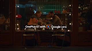 OnePlus 6T With Google Lens - Language No Barrier